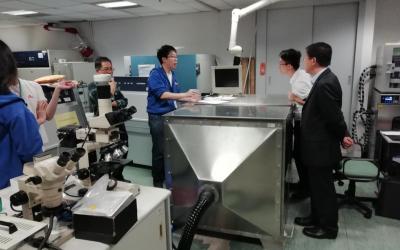 香港生产力促进中心技术交流
